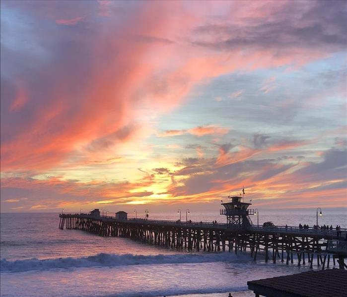 Community San Clemente Pier Sunset